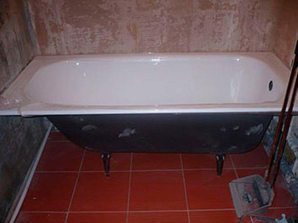 Как очистить чугунную ванну до бела в домашних условиях
