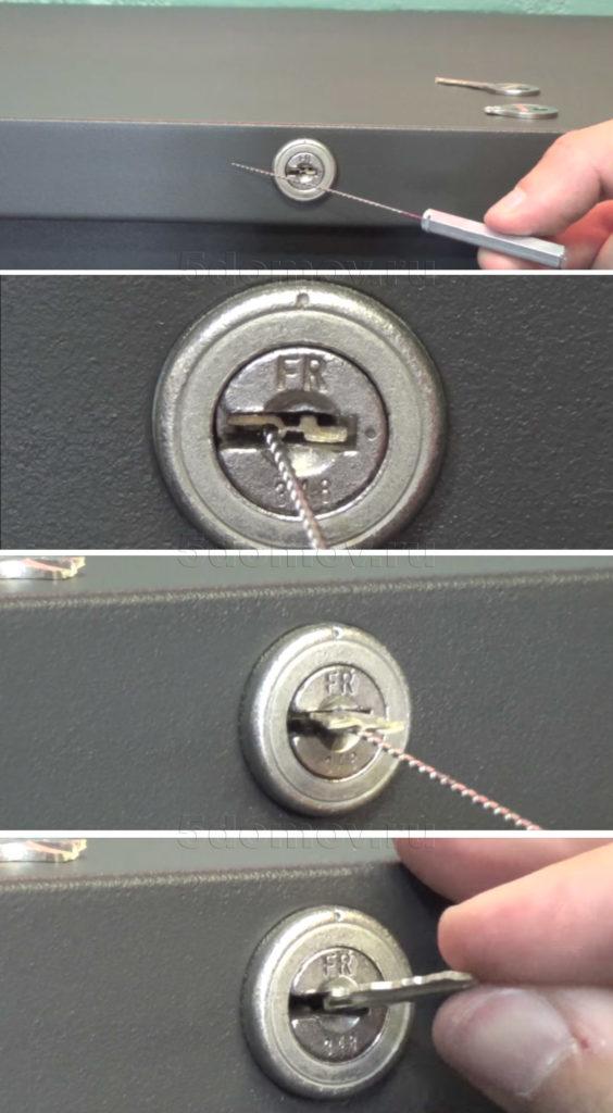 Что делать, если застрял ключ в замке двери