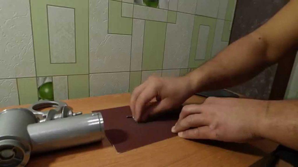 Как заточить нож для мясорубки в домашних условиях