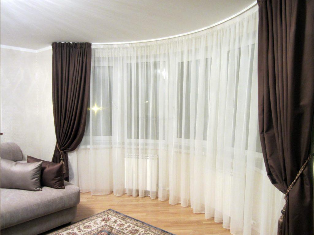 5 способов как повесить шторы в гостиной красиво