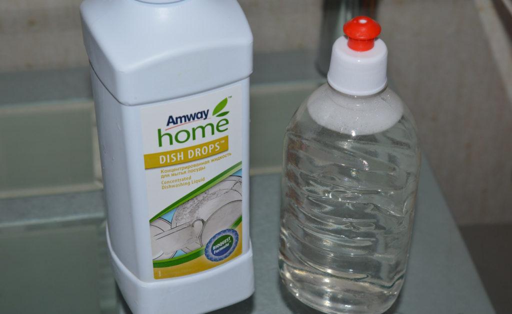 Как приготовить универсальное средство для чистки и мытья посуды