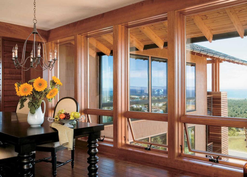 Как ухаживать за деревянными рамами окон в квартире
