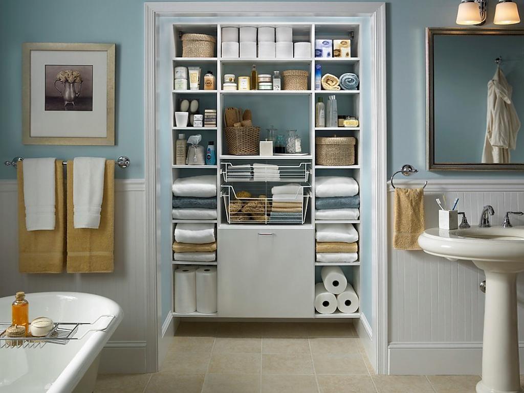 Как навести порядок в ванной комнате за полчаса