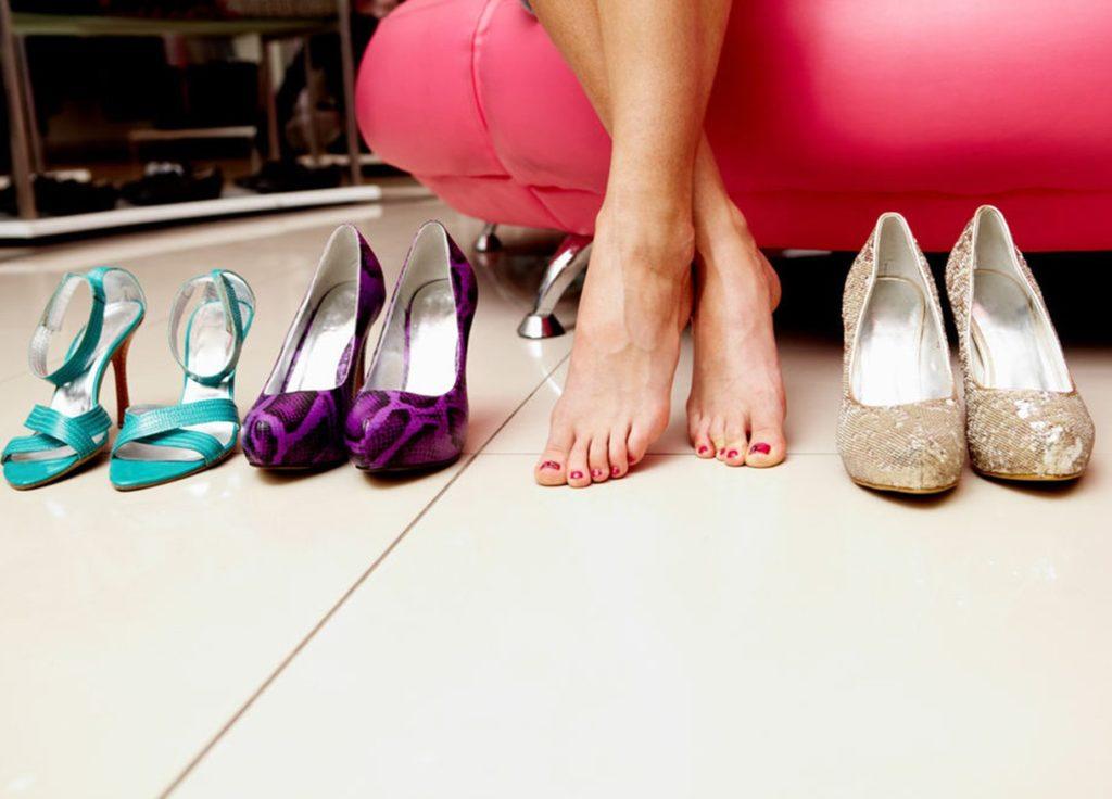 Что делать если обувь сильно жмет