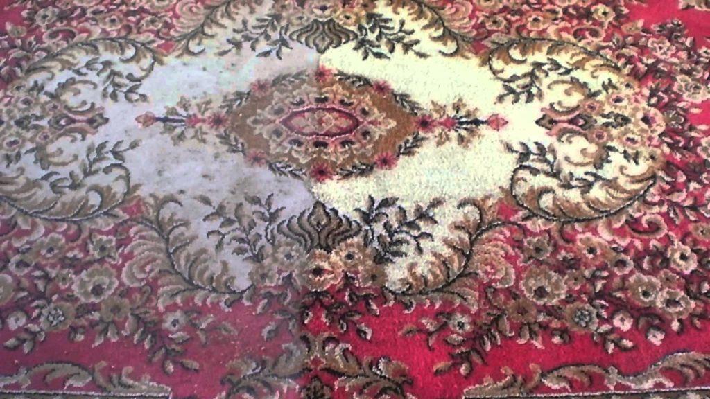"Чистим ковры дома по ""бабушкиным"" рецептам"