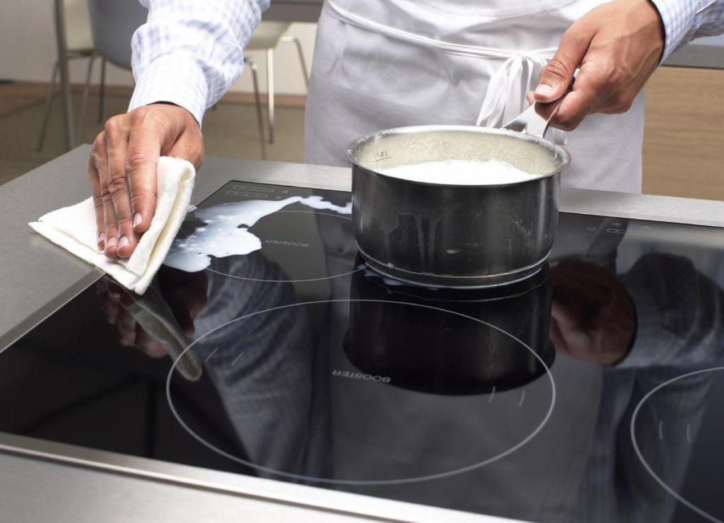 Домашние средства для очистки стеклокерамической варки