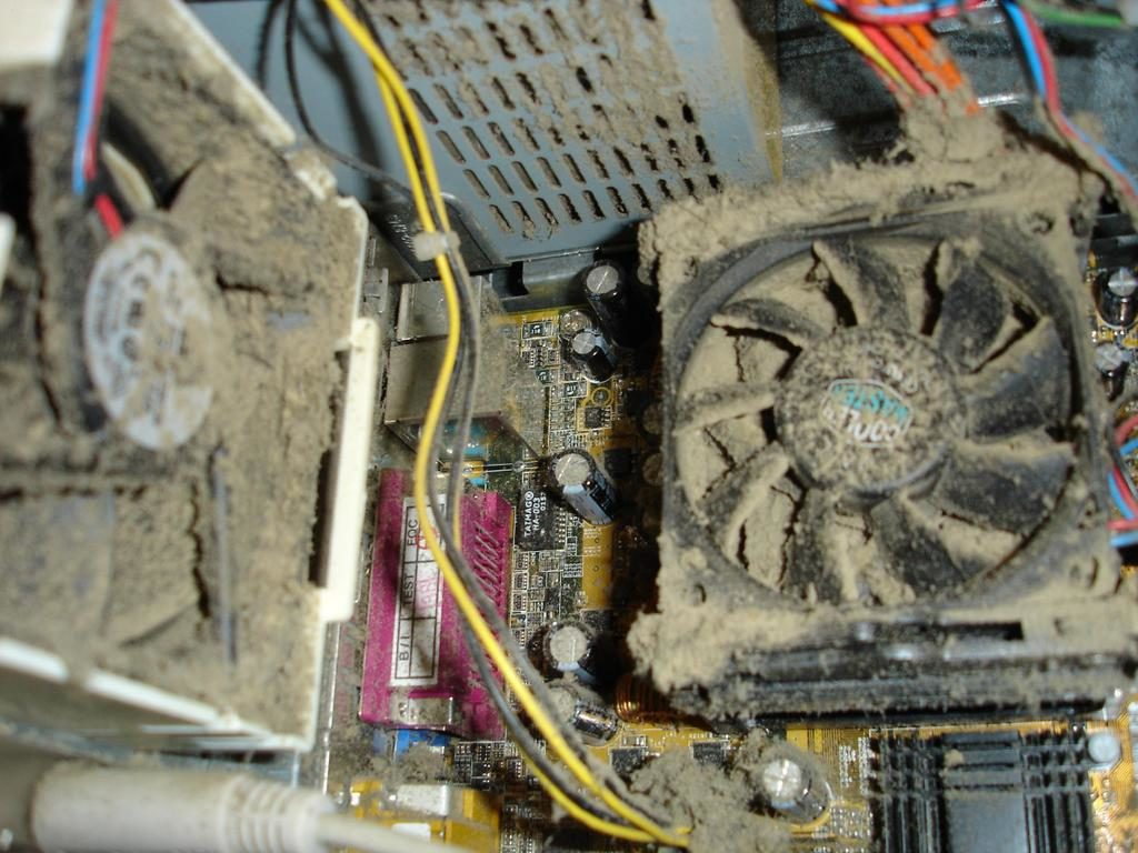 Как самостоятельно почистить кулеры компьютера