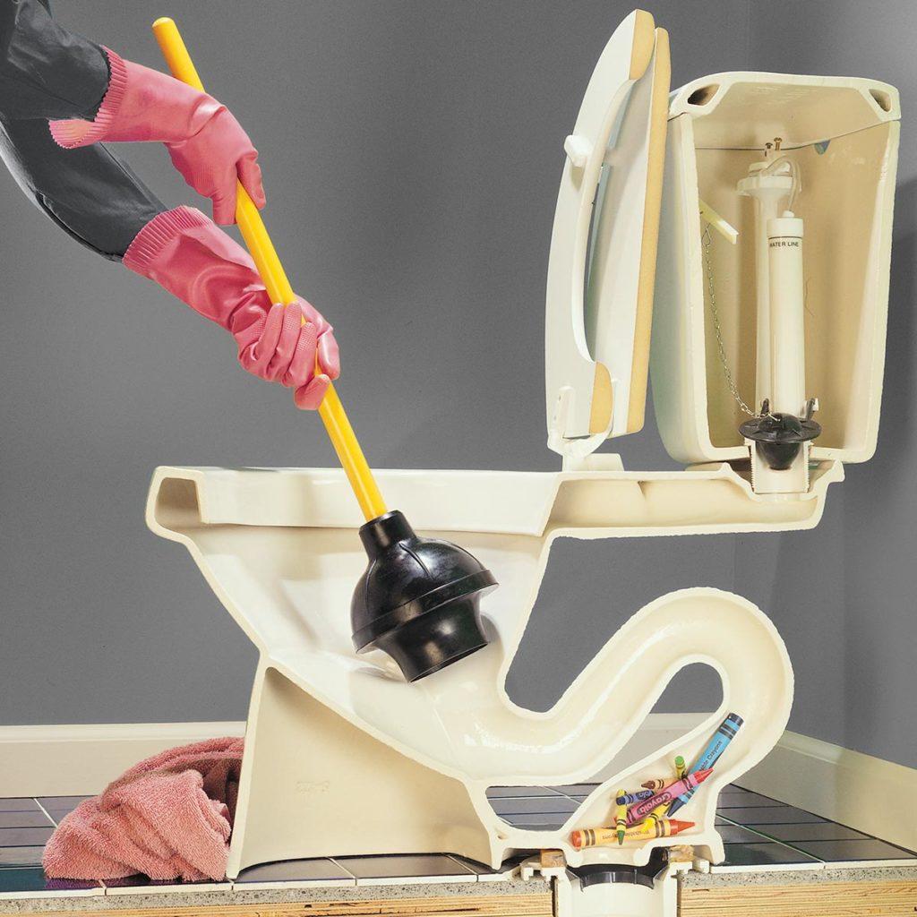 Чем прочистить засор канализации в домашних условиях