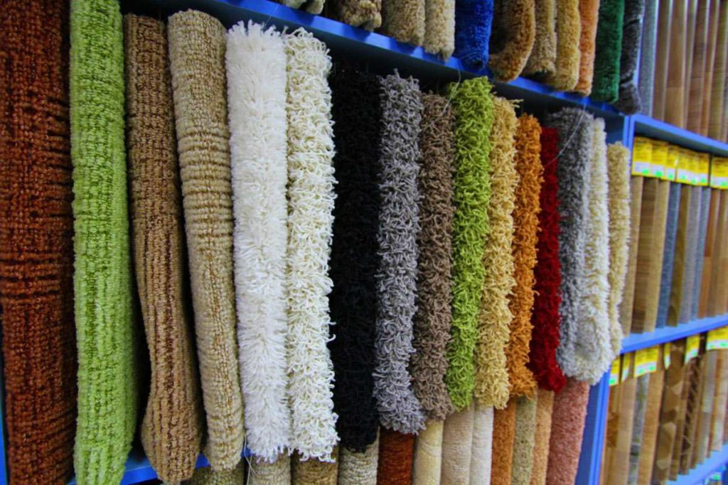 Правила ухода за синтетическими ковровыми покрытиями