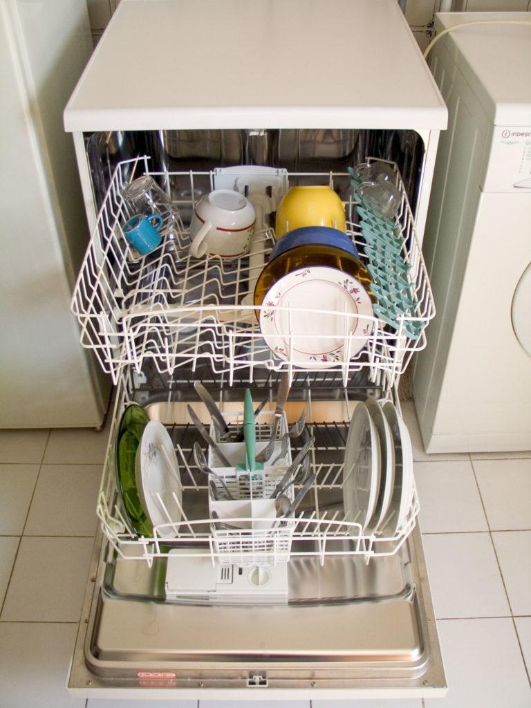 Чем можно заменить соль для посудомоечной машины