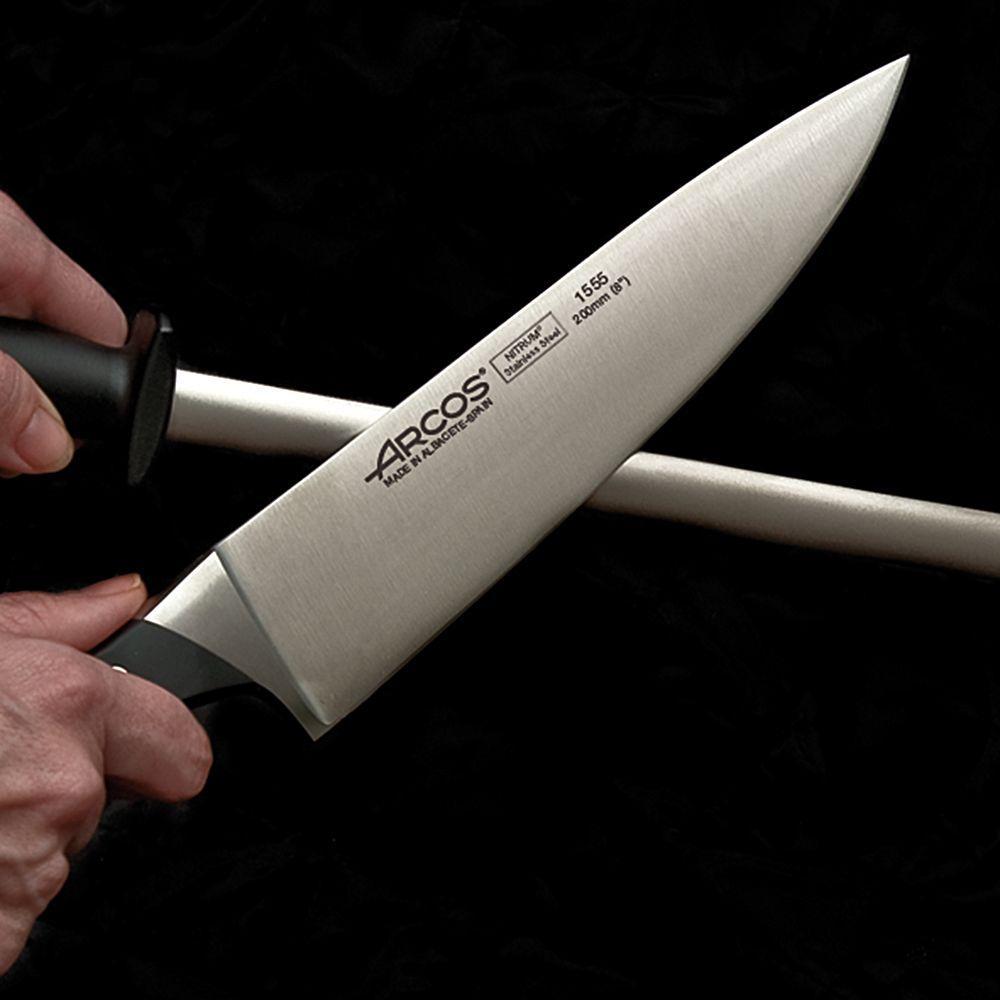 Как правильно заточить ножи при помощи мусата