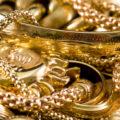 Как вернуть блеск золотым ювелирным изделиям