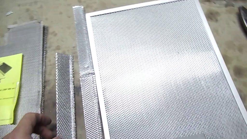 Как почистить жировой фильтр от вытяжки