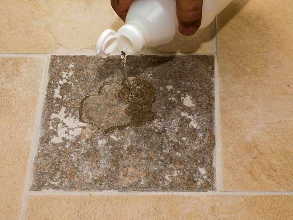 Как отмыть следы цемента после ремонта