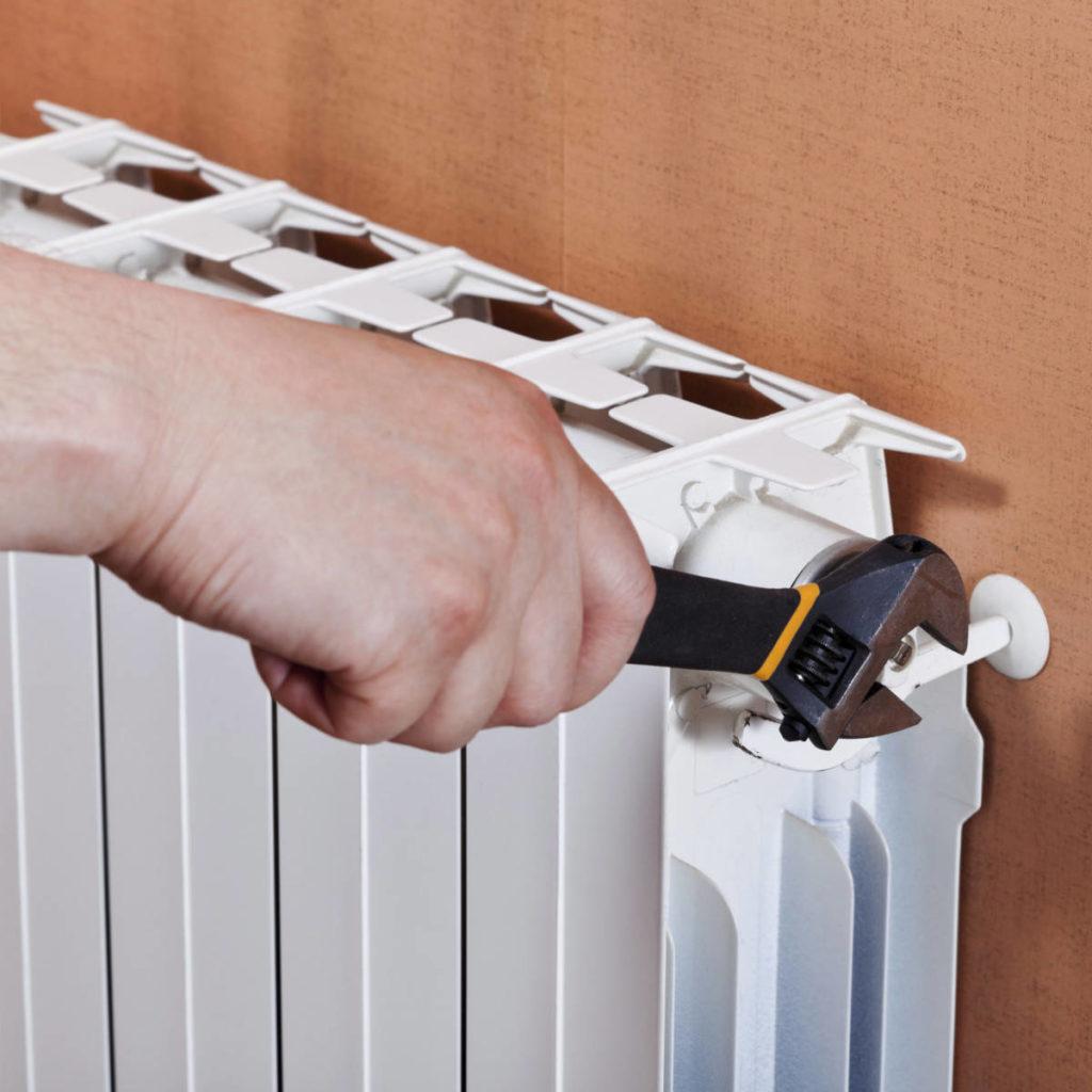 Как быстро отмыть радиатор отопления