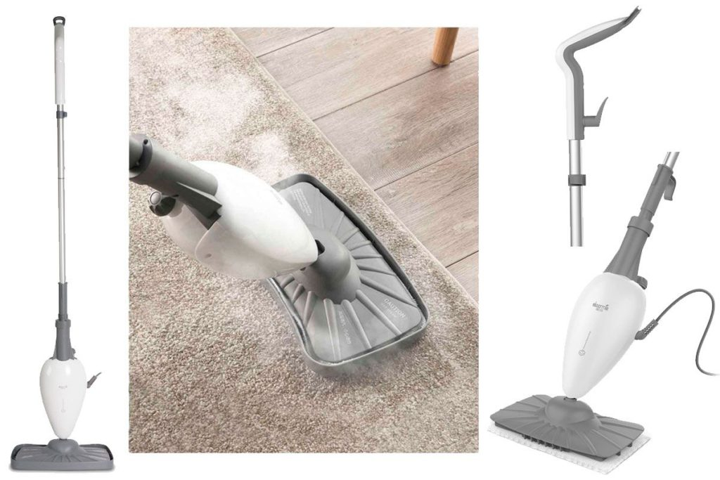 Какие поверхности можно мыть паровой шваброй