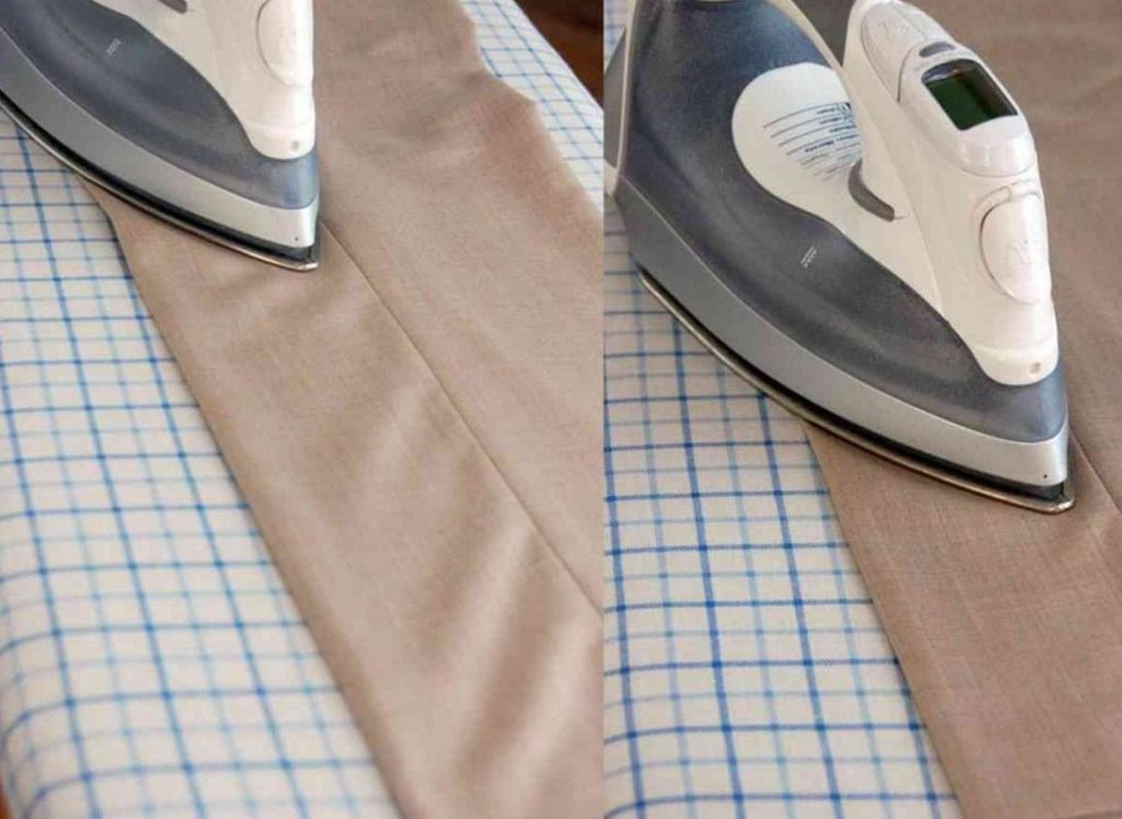 Как сделать идеальные стрелки на брюках