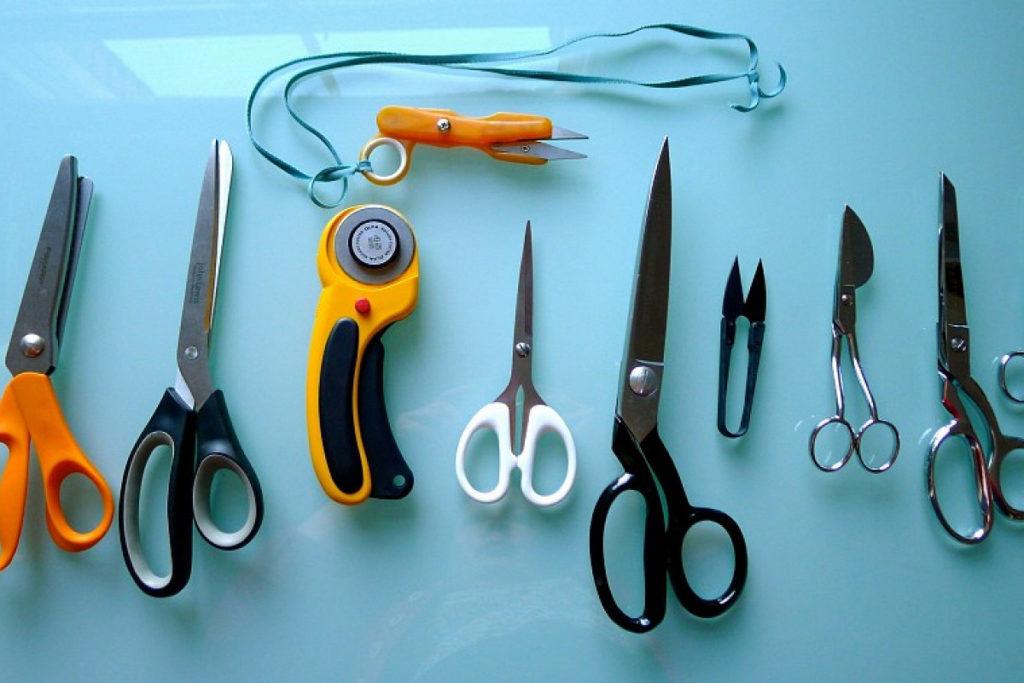 Как правильно наточить ножницы в домашних условиях