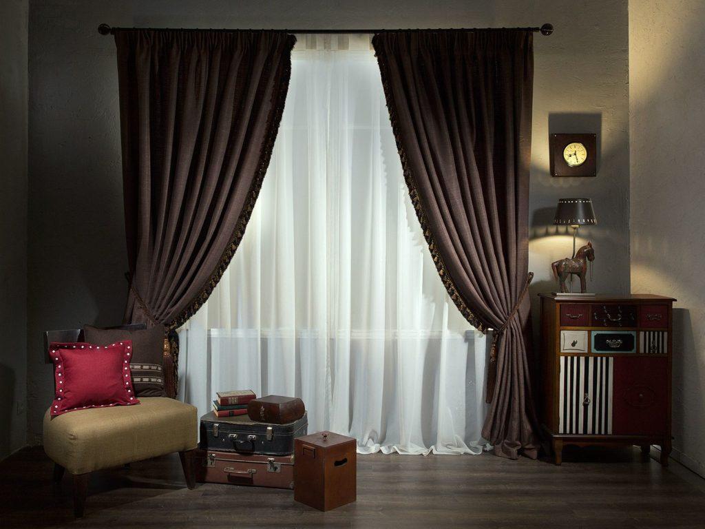 Как стирать и гладить шторы из натуральных тканей