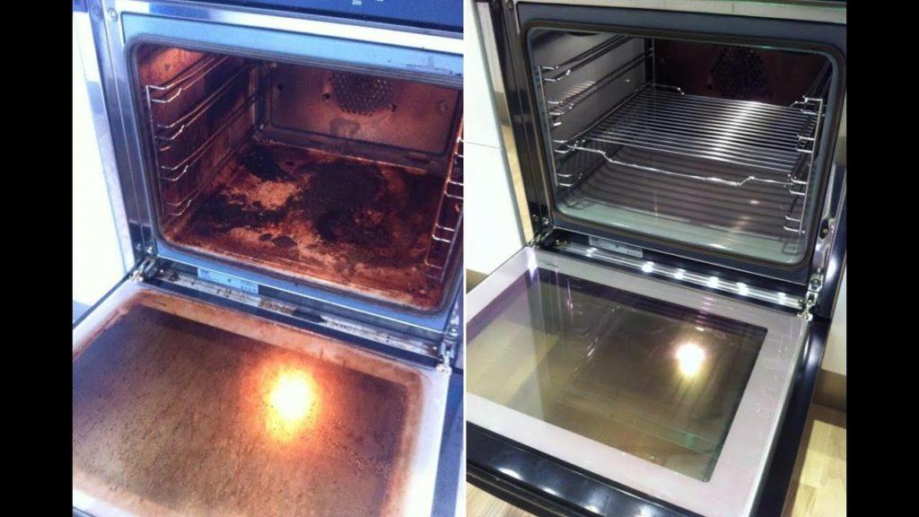 6 советов чтобы очистить стекло духовки от нагара и грязи