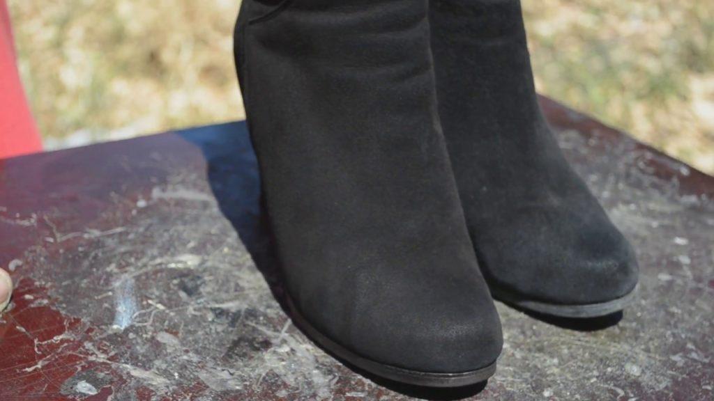 Как вернуть замшевой обуви первоначальный вид