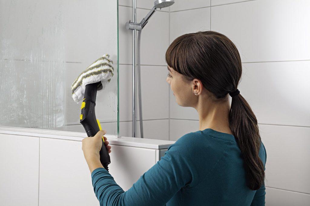 Как отмыть стенки душевой кабины от мыльных разводов
