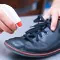 Как удалить разводы соли с обуви