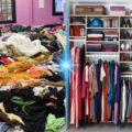 Как правильно и компактно хранить вещи в шкафу