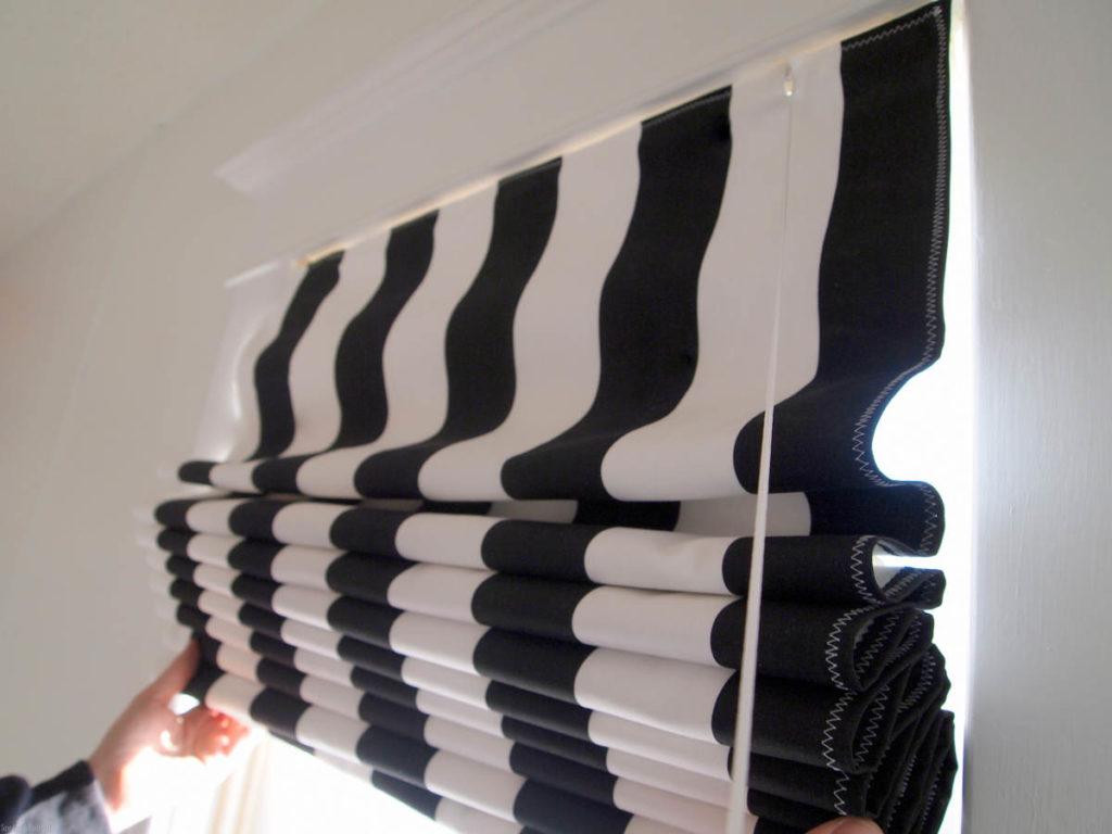Как можно постирать римские шторы в домашних условиях