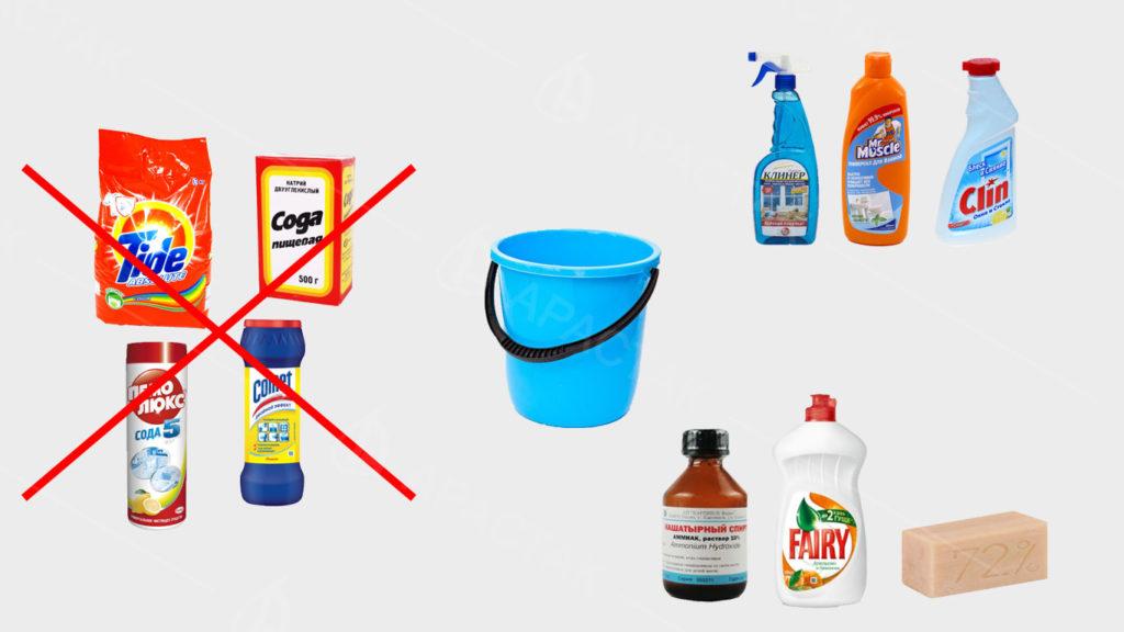 Чем можно мыть матовые натяжные потолки