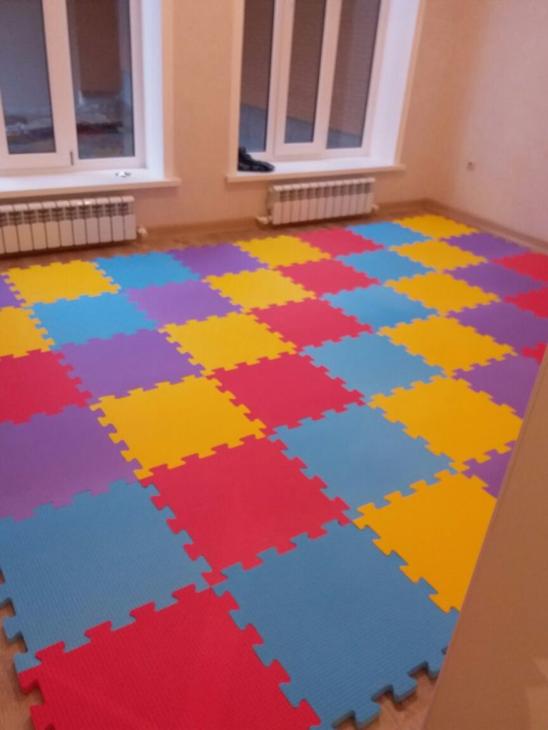 Чем можно мыть мягкие полы в детской комнате