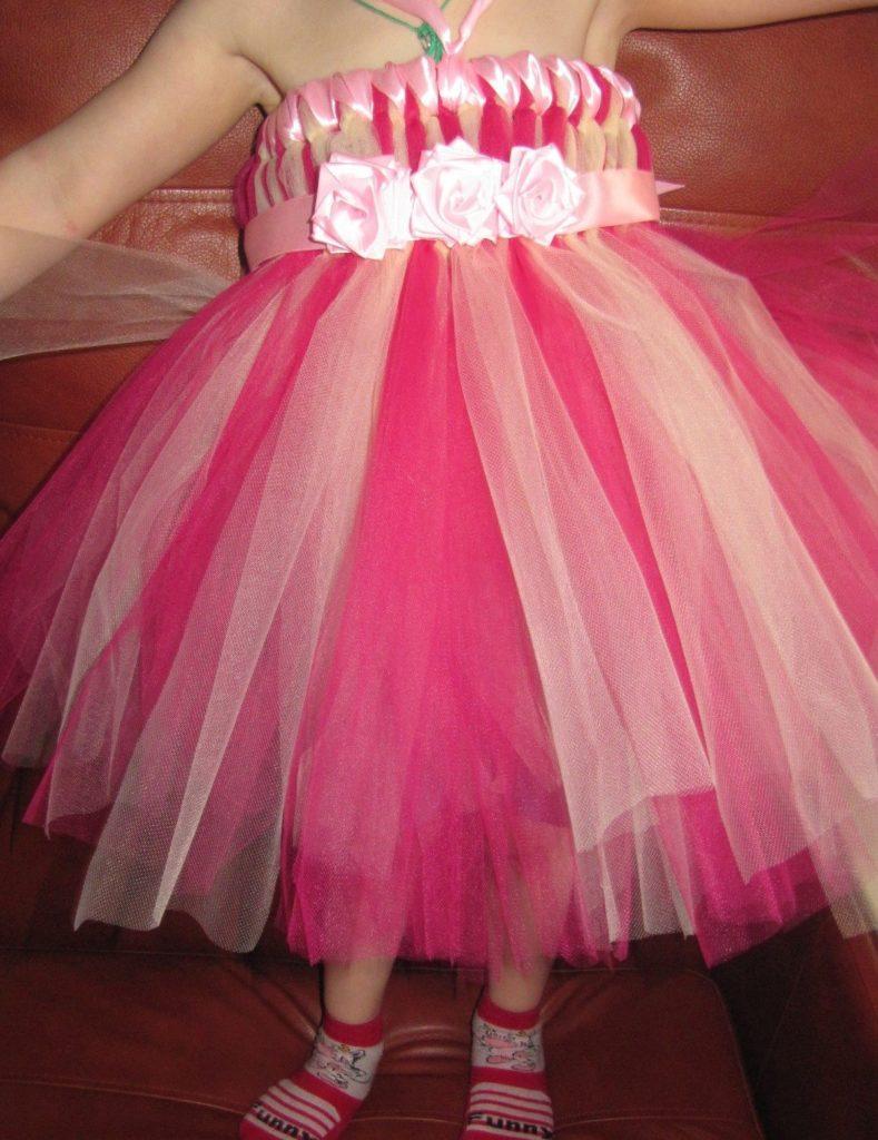 Как правильно нахрамалить пышную юбку